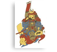 Avenging Samurai Pikachu Canvas Print