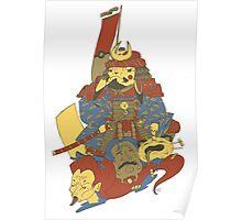 Avenging Samurai Pikachu Poster