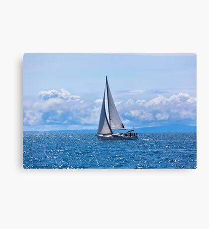 Recreational Yacht Canvas Print