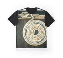 Nautical mooring rope Graphic T-Shirt