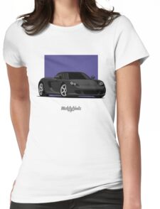 Porsche Carrera GT (black) Womens Fitted T-Shirt