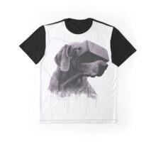 Virtual Reality Dog Graphic T-Shirt