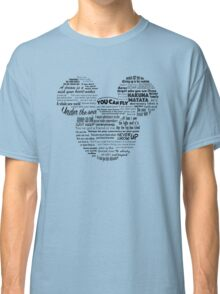 Mouse quotes Classic T-Shirt