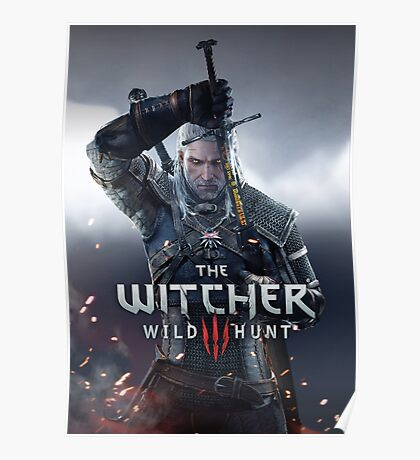 THE WITCHER WILD HUNT 3 JOWO Poster