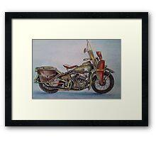 Harley's Angel Framed Print