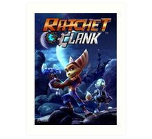 RATCHET CLANK JOWO Art Print