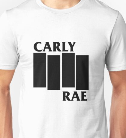 Carly Rae Black Flag Unisex T-Shirt