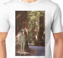 Alien Vacation - Redwoods California Unisex T-Shirt