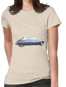 CITROEN DS vintage Spicy Mustard Womens Fitted T-Shirt