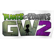 PLANTS ZOMBIES GW2 JOWO Poster
