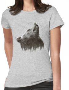 Holy Bear Womens Fitted T-Shirt