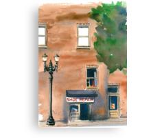 Shoe Repair Canvas Print