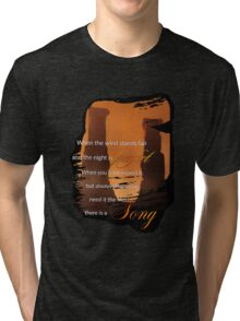 Singing Towers, There is a Song, Doctor Who Tri-blend T-Shirt