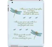 May You Touch Dragonflies and Stars Boy iPad Case/Skin