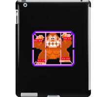 Donkey Kong Caged - Donkey Kong Jr. Arcade Game iPad Case/Skin