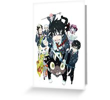 Blue Exorcist [Ao No Exorcist] Greeting Card