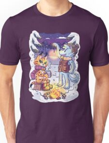 Goldwood Chronicles: Mia and Heidy Winter  Unisex T-Shirt