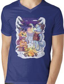 Goldwood Chronicles: Mia and Heidy Winter  Mens V-Neck T-Shirt