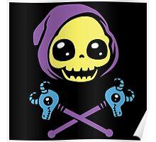 Skeletaww and Crossbones Poster