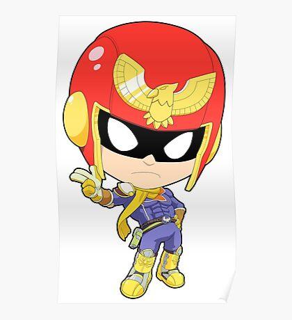 Super Smash Bros. Captain Falcon Poster