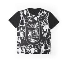 JACK Ü ARTWORK (WHITE) Graphic T-Shirt