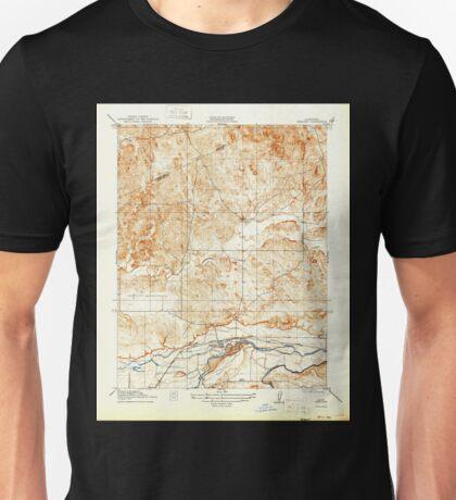 USGS TOPO Map California CA Snelling 301524 1918 31680 geo Unisex T-Shirt