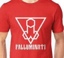 Falluminati Blood & Milk by Umberto Lizard Unisex T-Shirt
