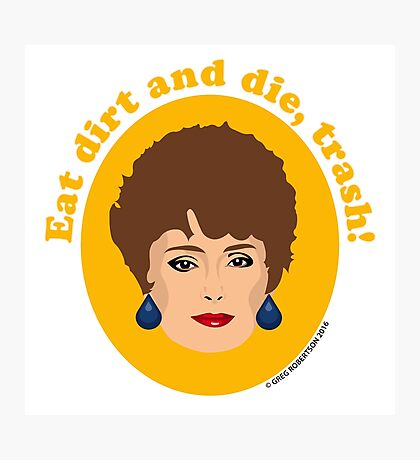 Blanche Devereaux from The Golden Girls Photographic Print