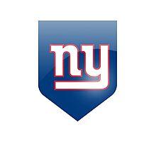 new york giants team Photographic Print
