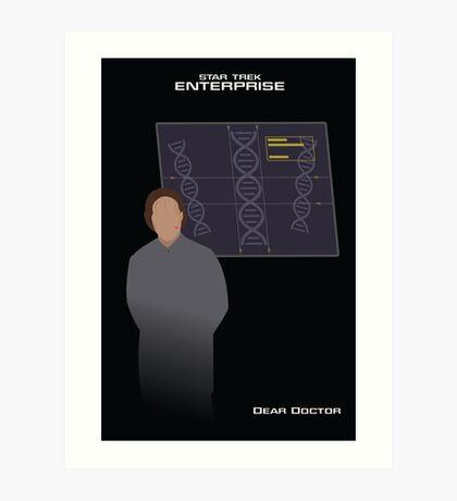 Enterprise | Dear Doctor Art Print