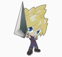 Super Smash Bros. Cloud Kids Tee