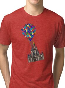Castle Floating UP & Away Tri-blend T-Shirt