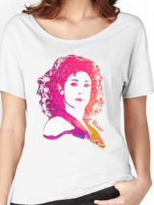 River Song Doctor Who Pop Art Women's Relaxed Fit T-Shirt