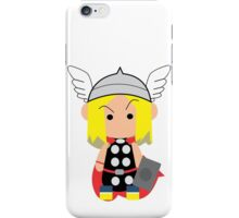 Thor Cartoon iPhone Case/Skin