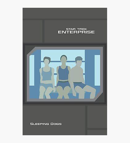 Enterprise | Sleeping Dogs Photographic Print