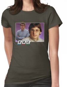 Louis Theroux 90s no text Womens Fitted T-Shirt
