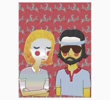 Margot& Richie// The Royal Tenenbaums Kids Tee