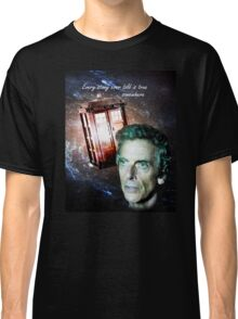 Somewhere...  (Dr. Who) Classic T-Shirt