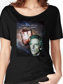 Somewhere...  (Dr. Who) Women's Relaxed Fit T-Shirt