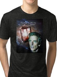 Somewhere...  (Dr. Who) Tri-blend T-Shirt