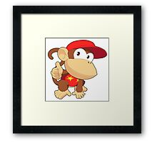 Super Smash Bros. Diddy Kong Framed Print