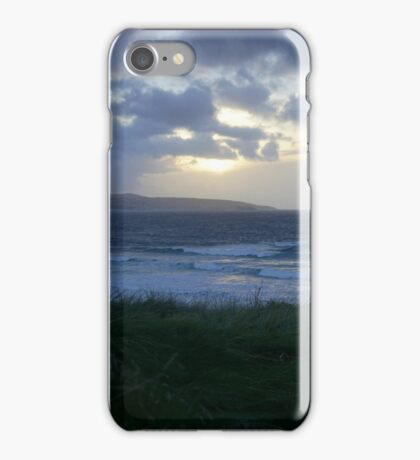 Gwithian Sunset iPhone Case/Skin