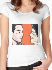 Point Break  Women's Fitted Scoop T-Shirt