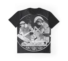 Achilles Tending the Wounded Patrolus Graphic T-Shirt