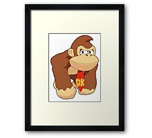 Super Smash Bros. Donkey Kong Framed Print