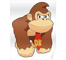 Super Smash Bros. Donkey Kong Poster