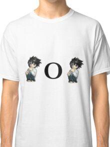 "Death Note ""L o L"" Classic T-Shirt"