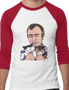 Phil Collins Kitties Men's Baseball ¾ T-Shirt