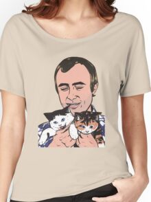 Phil Collins Kitties Women's Relaxed Fit T-Shirt