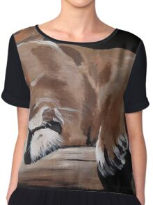 The Loin Sleeps Tonight! Chiffon Top